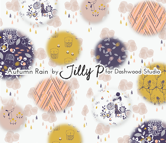 Dashwood Studio Autumn Rain Collection by Jilly P