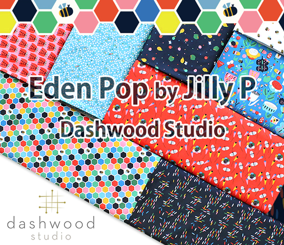 Dashwood Studio Eden Pop Collection by Jilly P